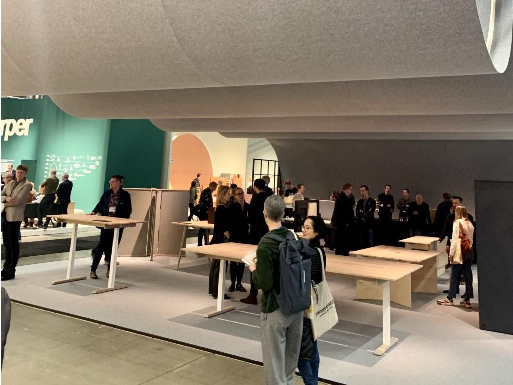 Ragnars Messestand auf der Stockholm Furniture Fair 2020